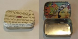 Decoupaged Tin