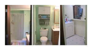 Laundry Room and 3rd Bathroom