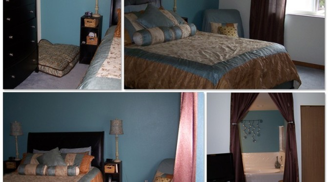The Master Suite at Pennington House