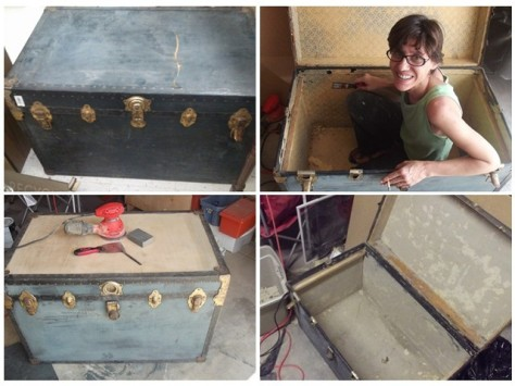 Steamer Trunk Progress