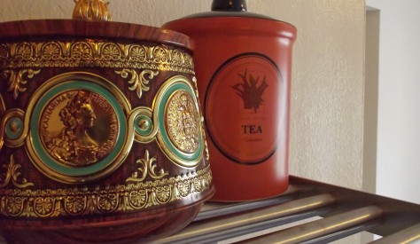 Pretty Storage for Loose Leaf Tea