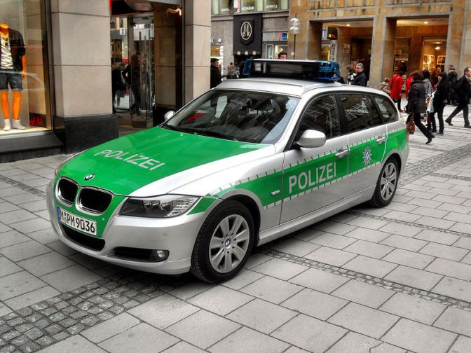 It's the Polizei!