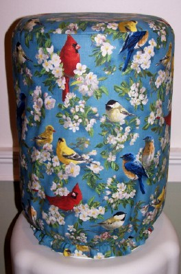 WATER BOTTLE COVER BIRDS PHOTO