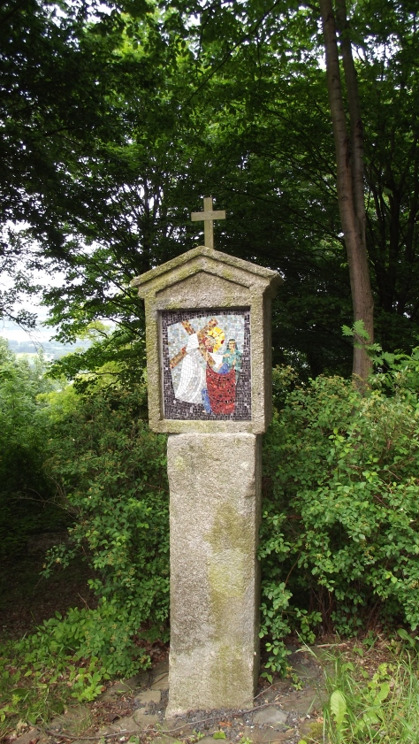 Mosaic Station of the Cross