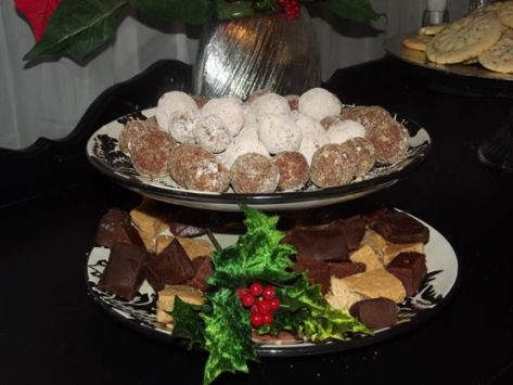 Rum Balls And Fudge
