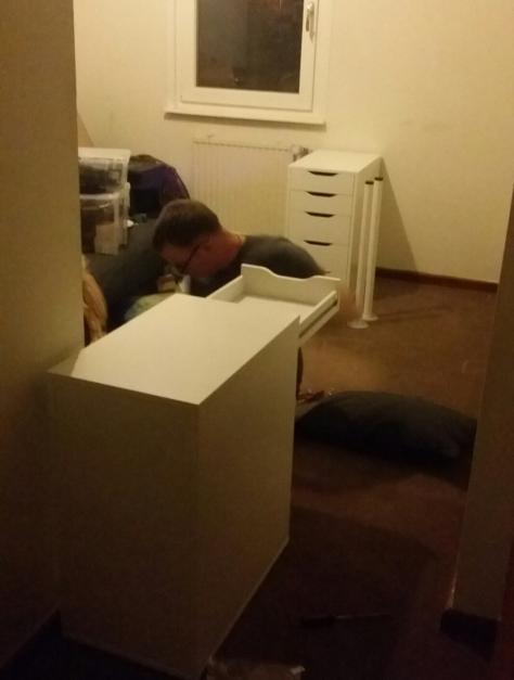 Assembling the Ikea ERIK Drawer Units