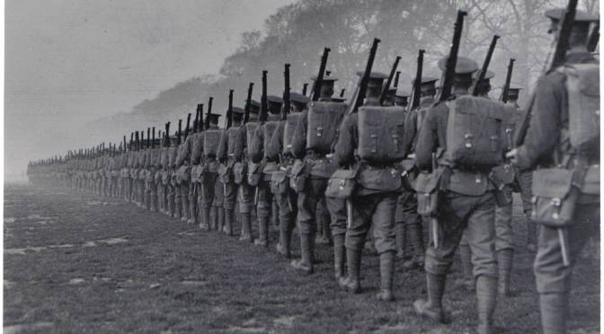 WWI: A Catalyst of the Modern Poetic Movement