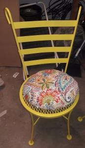 Boho Bistro Chair